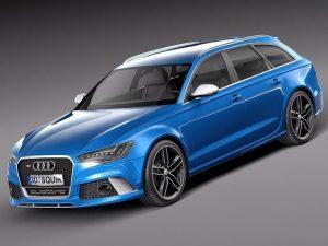 Audi RS6une familiale sportive