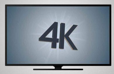 La tendance des TV 4K